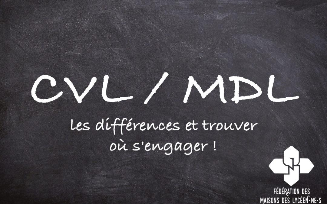 MDL, CVL : Quelles différences et où s'engager ?