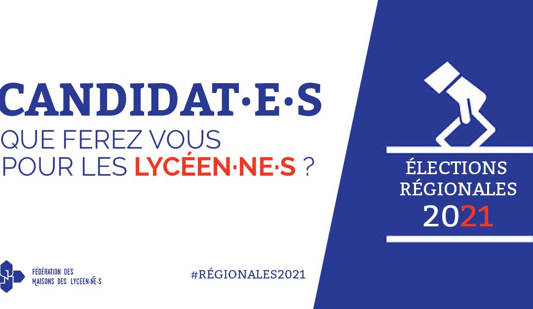 Régionales : que proposent les listes pour les lycéen·ne·s ?